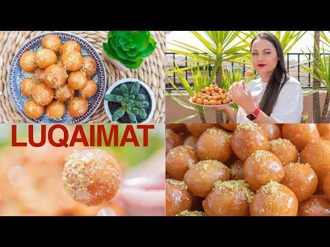 Luqaimat ✅  Lokma ❤️ Loukoumas ❤️ Postre crujiente de bolas dulces adictivo 🥰