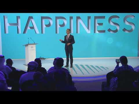 The Pursuit Of Scandinavian Happiness - H.E. Alexander Stubb -  WGS 2018