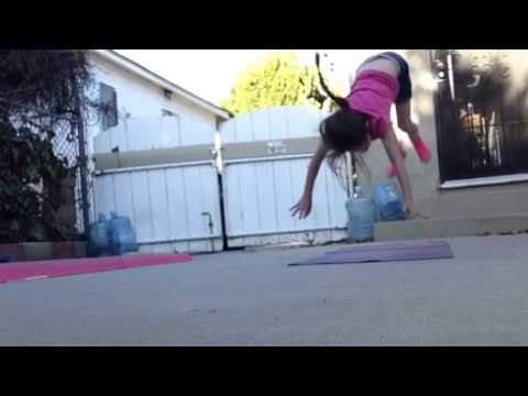 How To Do A Cartwheel On Beam!