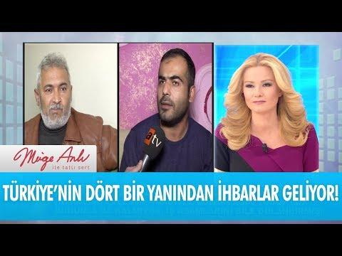 Türkiye'nin dört bir yanından ihbarlar geliyor - Müge Anlı İle Tatlı Sert 18 Ocak 2018