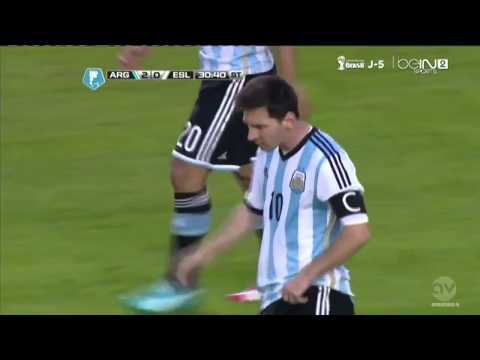 Messi Amazing Goal Argentina vs Slovenia 07 06 2014 Highilights   Video Dailymotion