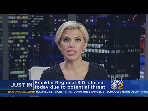 Franklin Regional School District Closed Due To Potential Threat
