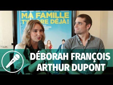 Interview — Déborah François et Arthur Dupont (Ma famille t'adore déjà)