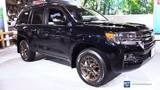 2020 Toyota Land Cruiser Heritage Edition - Exterior Interior Walkaround - 2019 New York Auto Show