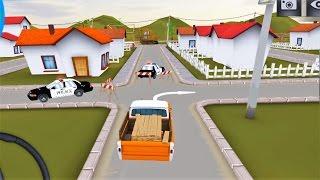 Машинки Лучший Симулятор Машин для Детей  сентябрь 2016 Возим Стройматериалы USA Driving Simulator