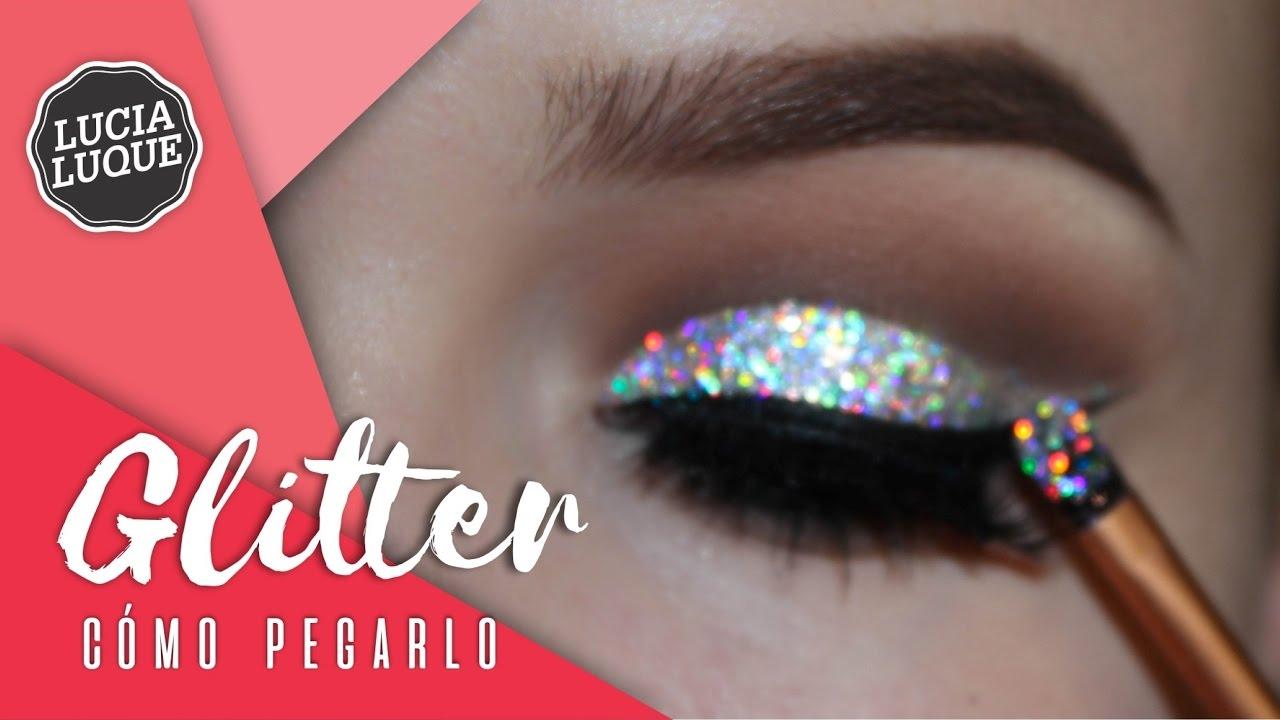 C mo pegar glitter en los ojos youtube for Como se cocinan los percebes