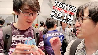 Playing in Tournament at Tokyo Game Show 2019