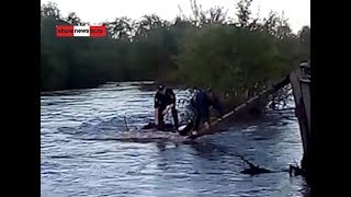 Полицейские спасатели на водах