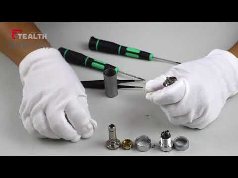 how to repair internal irrigation air motor dental handpiece TEALTH