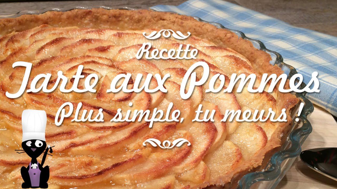 Recette De La Tarte Aux Pommes Simplissime Youtube