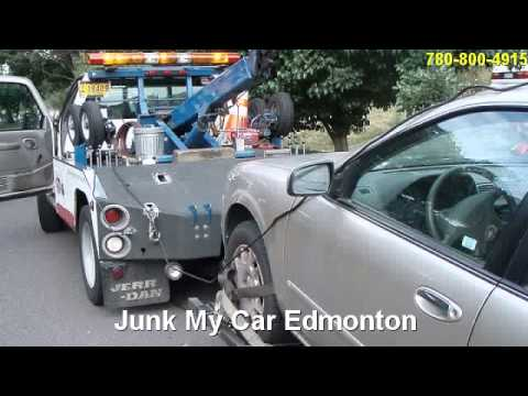 Sherwood Park AB Junk Auto Towing 587-400-0925 Edmonton 24 Hour Tow | Vehicle Scrapping