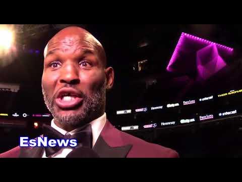Bernard Hopkins Reaction To Lennox Lewis Saying GGG Won EsNews Boxing