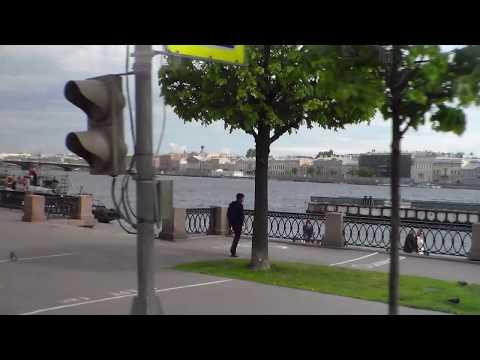St Petersburg, Coach, Crossing Neva River