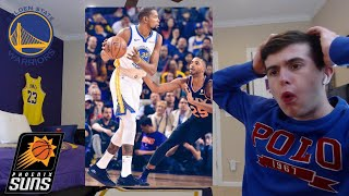 HOW WAS THIS CLOSE?? SHOCKING GAME! WARRIORS HATER REACTS TO WARRIORS SUNS