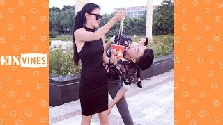 Funny videos 2018 ✦ Funny pranks try not to laugh challenge P43