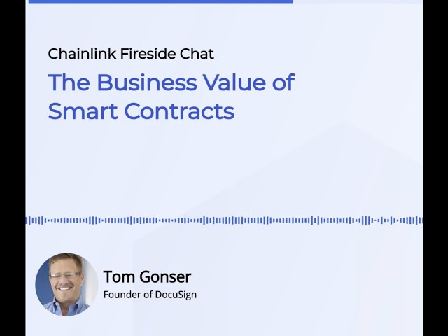 The Business Value of Smart Contracts