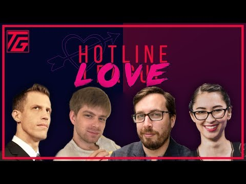 Valentines Special! Ovilee, Mark, and Travis take your romance calls - Hotline Love