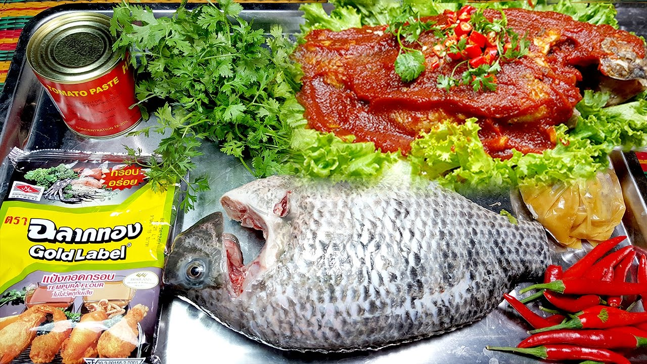 How to fried fish tomato paste recipes cooking khmer food by yummy how to fried fish tomato paste recipes cooking khmer food by yummy yummy forumfinder Gallery
