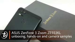 ASUS ZenFone 3 Zoom ZE553KL unboxing, hands-on and camera samples by TechNave.com
