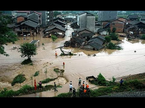 China flooding, More than 130 dead , many still missing