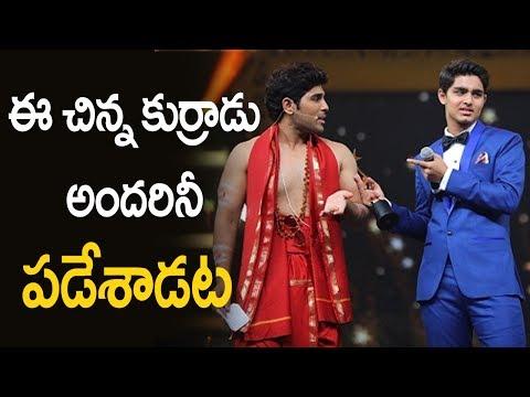 Srikanth Son Roshan and Allu Sirish in SIIMA | Silver Screen