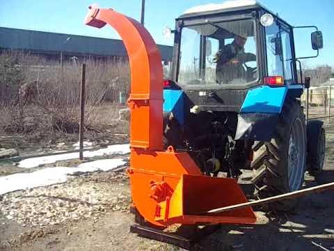 Серия 52; ИВН-1/Ø160 Измельчитель веток навесной с приводом от ВОМ трактора