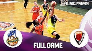 Cinkarna Celje v MBK Ruzomberok - Full Game - EuroCup Women 2019