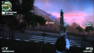 Acer aspire 5750 Just cause 2 Gameplay