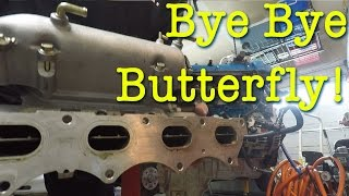 homepage tile video photo for Removing the butterfly from the intake manifold on the Boosted...