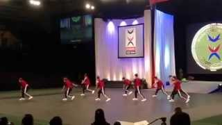 Team Chinese Taipei team cheer hip hop