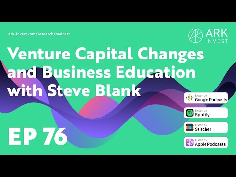 Venture Capital Changes, Business Education, And The US Supply Chain With Steve Blank
