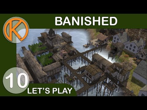 Banished Colonial Charter 1.75 Journey | EXPANSION - Ep. 10 | Let's Play Banished Gameplay