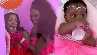 Kenya, Porsha & other caught filming for RHOA at Brooklyn Daly 1st B -DAY