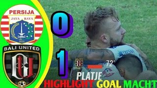 PERSIJA JAKARTA (0) VS BALI UNITED (1) - GOAL HIGHLIGHTS | 19 SEPTEMBER 2019 | SHOPEE LIGA 1