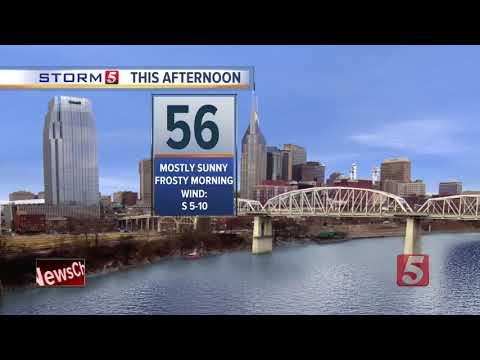 Lelan's Afternoon Forecast: Monday, November 20, 2017