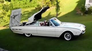 1962 Convertible Thunderbird Sport Roadster