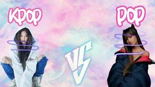 KPOP VS POP|من فاز؟ وممكن تتفاعلون؟
