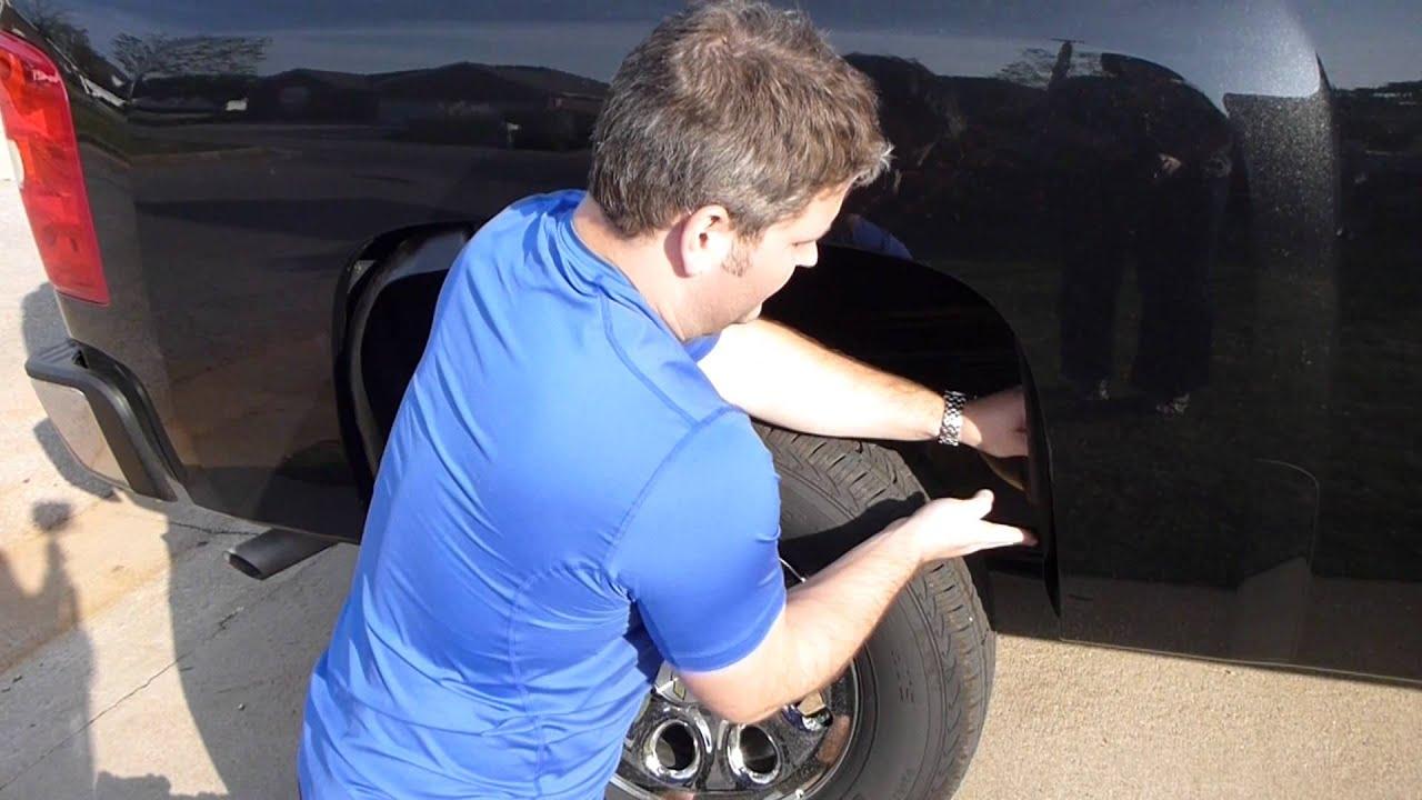 Rugged Liner Wheel Well Inner Liner Installation Video