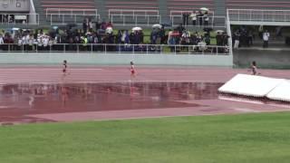 高校女子4X400mR 予選 3組 5月21日 1着 7レーン 4:11.34 古河一 / 茨城 [43...