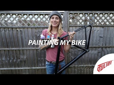 Spray Painting My Own Bike | DIY Rattle Can