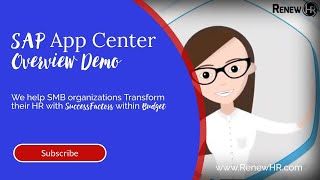 The sap app center is a fully digital, enterprise marketplace where you can discover, try, buy, manage, and deploy trusted partner applications that extend y...