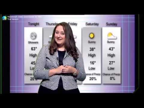 Emily Wearing News Reel