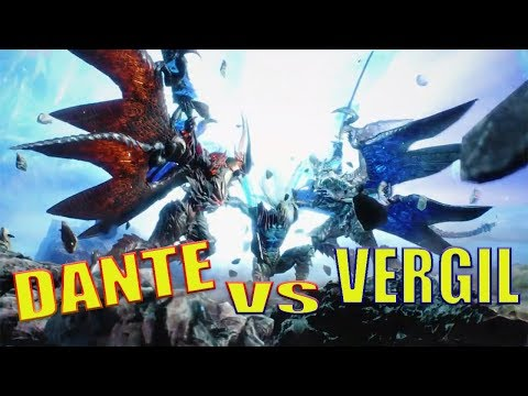 Devil May Cry 5 - Dante vs Vergil GAMEPLAY thumbnail