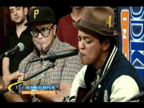"Bruno Mars - ""Billionaire"" Live on Kidd Kraddick In The Morning"