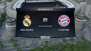 (Xbox One) FIFA 15 | Real Madrid vs Bayern Munich - Full Online Co-Op Seasons  Gameplay (1080p HD)