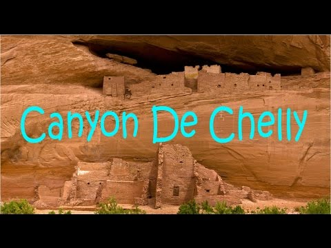 Hiking down Canyon De Chelly in Chinle, Arizona, Navajo reservation, White House, ancient dwellings