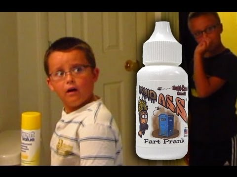 Fart Spray Prank