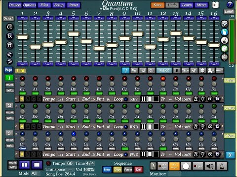 QUANTUM Multi Track Midi Sequencer - Getting Started Tutorial for the iPad