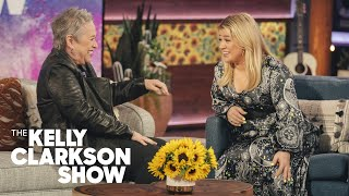 Kelly Makes Kathy Bates Double Over And Cry With Laughter