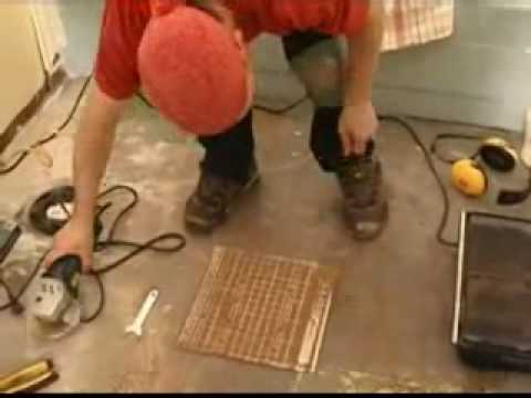 Floor Tile Cutting Part 1 Angle Grinders Diamond Youtube